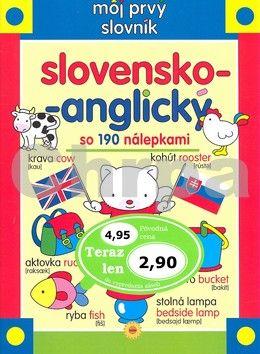 Môj prvý slovník slovensko-anglický so 190 nálepkami cena od 107 Kč