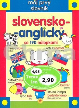 SUN Môj prvý slovník slovensko-anglický cena od 66 Kč