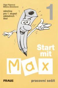 Olga Fišarová, Milena Zbranková: Start mit Max 1 - pracovní sešit cena od 113 Kč