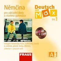 CD Deutsch mit Max A1/díl 1 - CD /2ks/ cena od 365 Kč