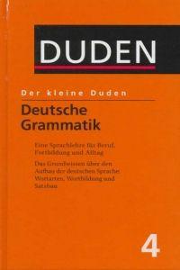 FRAUS Der kleine Duden 4 Deutsche Grammatik cena od 266 Kč