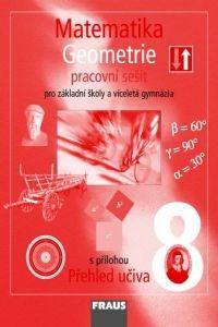 Kolektiv autorů: Matematika 8 geometrie pracovní sešit pro základní školy a víceletá gymnázia cena od 65 Kč