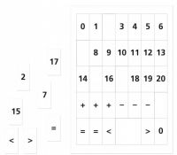 FRAUS Matematika se Čtyřlístkem 1 pro ZŠ Sada příloh Číslice cena od 75 Kč
