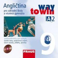 Kolektiv autorů: CD Angličtina 9 pro ZŠ a víceletá gymnázia Way to Win - CD /2 ks/ pro učitele cena od 301 Kč