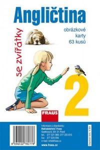 Angličtina se zvířátky 2 - obrázkové karty cena od 370 Kč