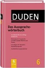FRAUS Duden Band 6 Das Aussprachewörterbuch cena od 684 Kč