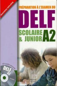FRAUS DELF scolaire & junior A2 UČ + audio CD cena od 292 Kč