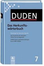 FRAUS Duden Band 7 Das Herkunftswörterbuch cena od 684 Kč