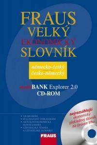 FRAUS Velký ekonomický slovník německo-český / česko-německý CD-ROM cena od 1455 Kč