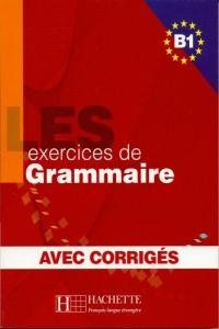 FRAUS LES 500 Exercices de grammaire B1 avec corrigés cena od 291 Kč