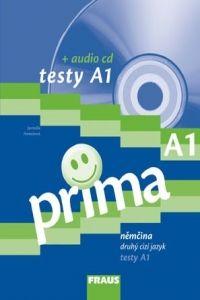 Antošová Jarmila: Prima A1 - Testy + CD cena od 258 Kč