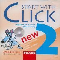 CD Start with Click New 2 - CD k učebnice /1ks/ cena od 173 Kč
