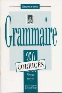 FRAUS Grammaire 350 exercices niveau intermédiaire (moyen) klíč cena od 139 Kč