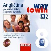 Kolektiv autorů: CD Angličtina 8 pro ZŠ a víceletá gymnázia Way to Win - CD /2 ks/ pro učitele cena od 328 Kč