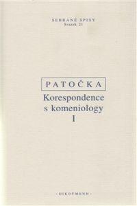 Jan Patočka: Korespondence s komeniology I. cena od 378 Kč