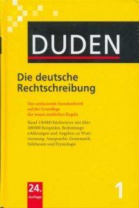FRAUS Duden Band 1 Die deutsche Rechtschreibung cena od 514 Kč