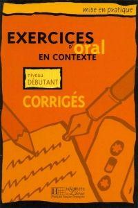 FRAUS Exercices d´oral en contexte niveau débutant klíč cena od 108 Kč