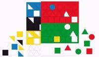 FRAUS Matematika se Čtyřlístkem 1 pro ZŠ Sada příloh Geometrické tvary cena od 75 Kč