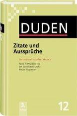 FRAUS Duden Band 12 Zitate und Aussprüche Neu cena od 514 Kč