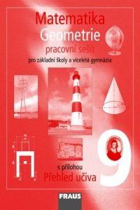 Kolektiv autorů: Matematika 9 pro ZŠ a víceletá gymnázia - Geometrie - pracovní sešit cena od 63 Kč