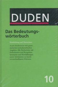 FRAUS Duden Band 10 Das Bedeutungswörterbuch cena od 684 Kč