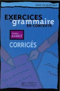 FRAUS Exercices de grammaire en contexte niveau avancé klíč cena od 49 Kč