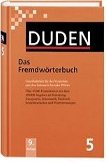FRAUS Duden Band 5 Das Fremdwörterbuch Neu cena od 0 Kč