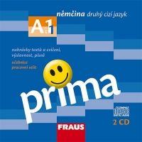 CD Prima A1/díl 1 - CD k učebnice /2ks/ cena od 300 Kč