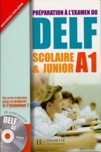 XXL obrazek FRAUS DELF scolaire & junior A1 UČ + audio CD