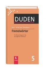 FRAUS Der kleine Duden 5 Fremdwörterbuch cena od 0 Kč