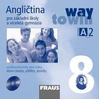 FRAUS Angličtina 8 pro ZŠ a VG Way to Win CD - pro žáka cena od 70 Kč