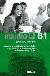 Kolektiv autorů: Studio d B1 - příručka učitele cena od 311 Kč
