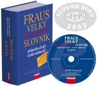 Komplet FRAUS Velký ekonomický slovník německo-český / česko-německý (kniha -ROM) cena od 2503 Kč