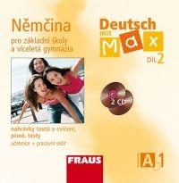 FRAUS Deutsch mit Max A1/ díl 2 CD /2 ks/ cena od 343 Kč
