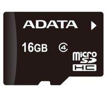 A-DATA Micro Secure Digital (SDHC) 16GB (class 4) - AUSDH16GCL4-R