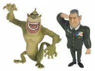 Alltoys CZ licence Filmové figurky Monsters vs. Aliens, 2ks 6cm