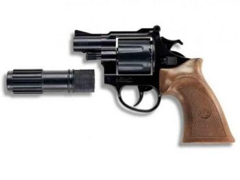 EDISON Policejní revolver Phantom dvanáctiranný s tlumiče cena od 139 Kč
