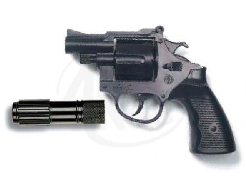 EDISON Policejní pistole Americana kapslíková s tlumičem cena od 0 Kč