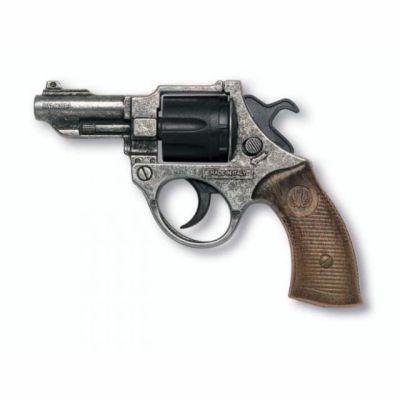 EDISON Policejní pistole FBI Federal Antik kapslíková