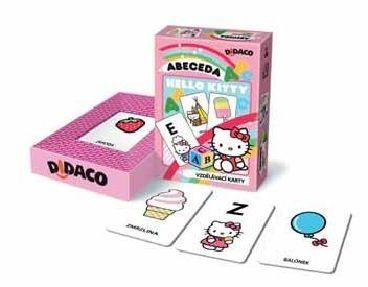 Vzdělávací karty - Abeceda - Hello Kitty cena od 49 Kč