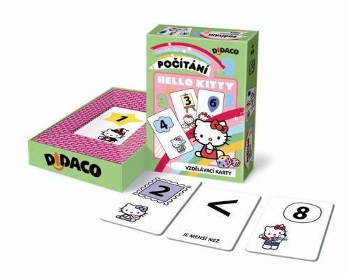 Vzdělávací karty - Počítání - Hello Kitty cena od 45 Kč