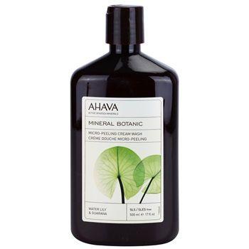 Ahava Mikro-peelingový sprchový krém s leknínem a guaranou 500 ml