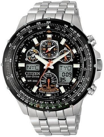 Citizen Eco-Drive Radio Controlled Super Skyhawk JY0080 62E
