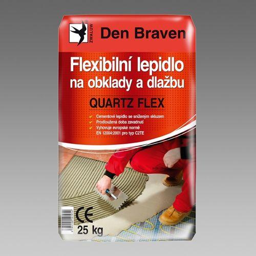 Den Braven Flexibilní lepidlo na obklady a dlažbu Quartz Flex 25 kg