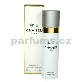 Chanel No.19 100 ml deodorant s rozprašovačem