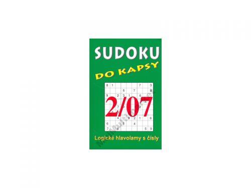 TELPRES Sudoku do kapsy 2/07 cena od 25 Kč