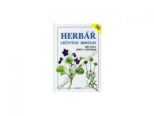 Josef A. Zentrich Herbář léčivých rostlin (6) cena od 200 Kč