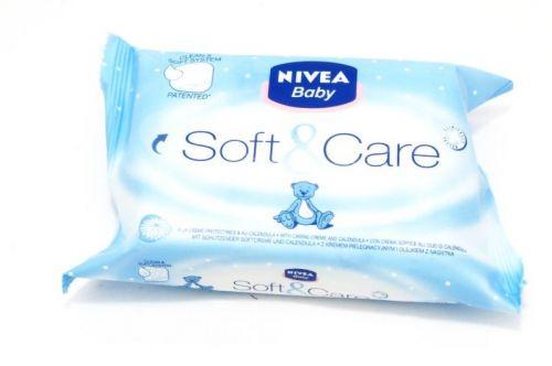 BEIERSDORF, PRAHA NIVEA Baby čist.ubrousky Soft-Creme cestovní balení 20ks