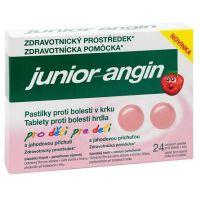 BAYER HEALTHCARE AG LEVERKUSEN Junior-angin pastilky 24ks