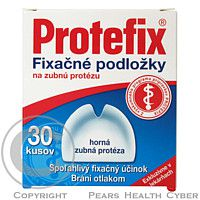QUEISSER PHARMA & CO.FLENSBURG Protefix Fixační podložky - horní zubní protéza 30ks